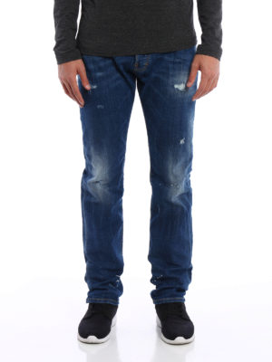 Dsquared2: straight leg jeans online - Mac Daddy jeans