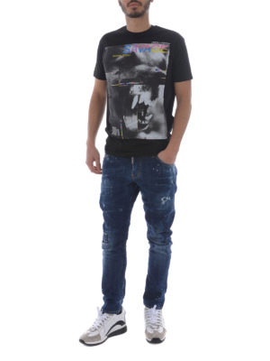 Dsquared2: straight leg jeans online - Sexy Twist cotton jeans