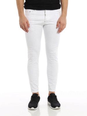 Dsquared2: straight leg jeans online - Skater coloured denim jeans