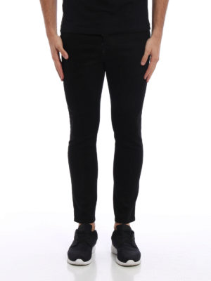 Dsquared2: straight leg jeans online - Skater denim jeans
