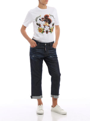 Dsquared2: straight leg jeans online - Tomboy jeans