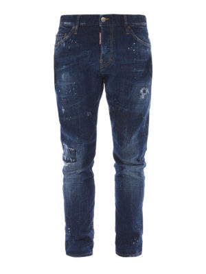 Dsquared2: straight leg jeans - Sexy Twist cotton jeans