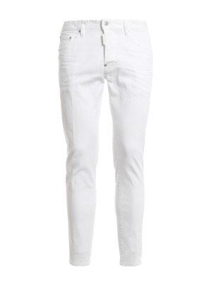 Dsquared2: straight leg jeans - Skater coloured denim jeans