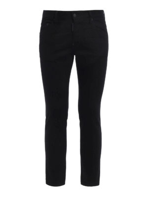 Dsquared2: straight leg jeans - Skater denim jeans