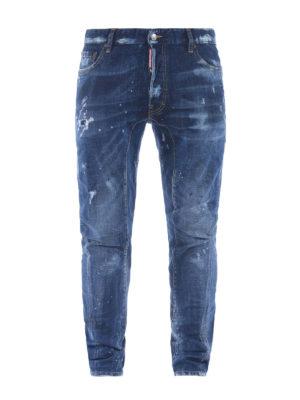 Dsquared2: straight leg jeans - Tidy Biker jeans