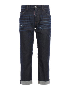 Dsquared2: straight leg jeans - Tomboy jeans