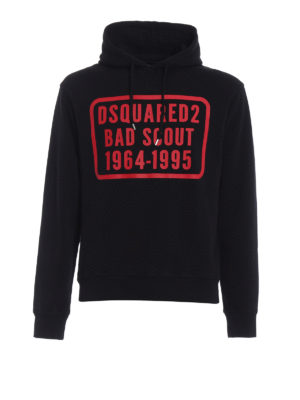 Dsquared2: Sweatshirts & Sweaters - Bad Scout print hoodie