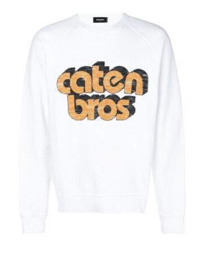 DSQUARED2: Felpe e maglie - Felpa Caten Bros