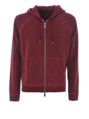 Dsquared2: Sweatshirts & Sweaters - Cotton hoodie