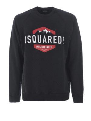 Dsquared2: Sweatshirts & Sweaters - D2 Mountaineer sweatshirt