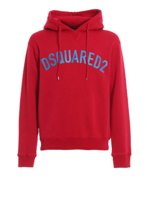 DSQUARED2: Sweatshirts & Sweaters - Dsquared2 red hoodie