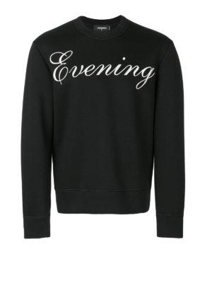 Dsquared2: Sweatshirts & Sweaters - Evening printed sweatshirt