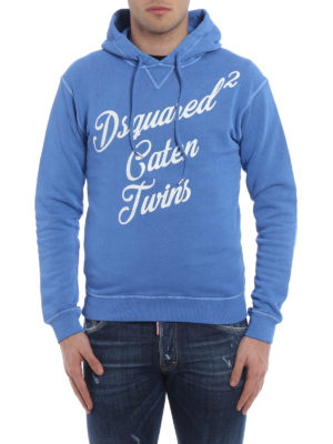 Dsquared2: Sweatshirts & Sweaters online - Caten Twins hoodie