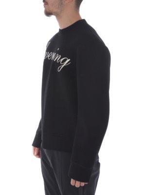 Dsquared2: Sweatshirts & Sweaters online - Evening printed sweatshirt