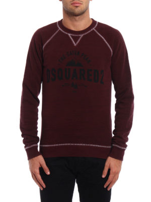 Dsquared2: Sweatshirts & Sweaters online - The Caten Peak sweatshirt