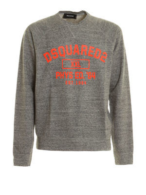 Dsquared2: Sweatshirts & Sweaters - Relief print sweatshirt