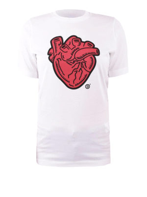 Dsquared2: t-shirts - Anatomical Heart cotton T-shirt