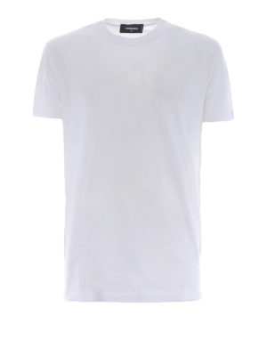 DSQUARED2: t-shirt - T-shirt stampa Be Cool Be Nice