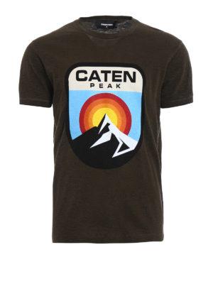 Dsquared2: t-shirts - Caten Peak jersey T-shirt