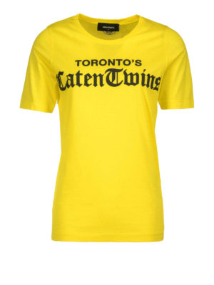 Dsquared2: t-shirts - Caten Twins' cotton T-shirt