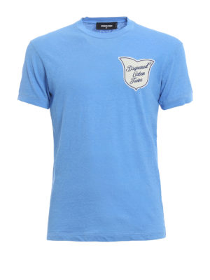 Dsquared2: t-shirts - Caten Twins crest detailed Tee