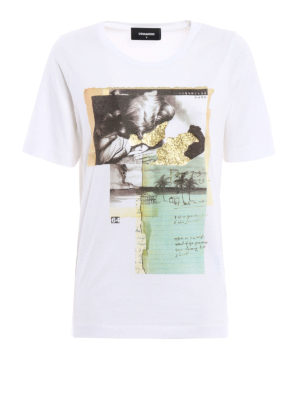 Dsquared2: t-shirts - Collage images T-shirt