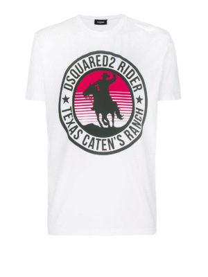 DSQUARED2: t-shirt - T-shirt Dsquared2 Rider