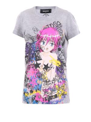 Dsquared2: t-shirts - Liza T-shirt