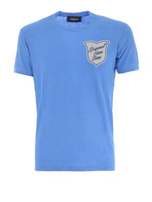 Dsquared2: t-shirts - Logo patch T-shirt