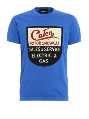 Dsquared2: t-shirts - Motor Snowcat T-shirt