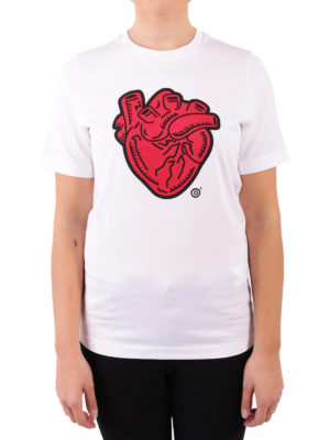 Dsquared2: t-shirts online - Anatomical Heart cotton T-shirt
