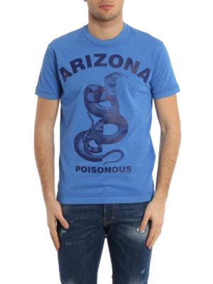 Dsquared2: t-shirts online - Arizona print vintage T-shirt