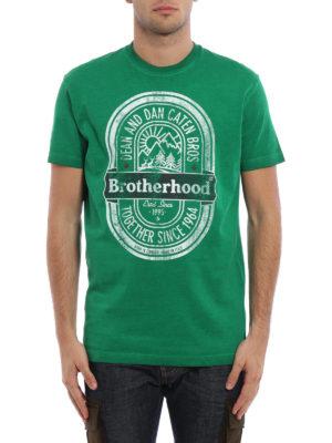 Dsquared2: t-shirts online - Brotherhood print T-shirt
