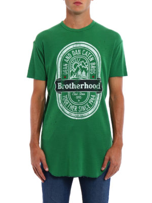 Dsquared2: t-shirts online - Brotherhood pure wool T-shirt