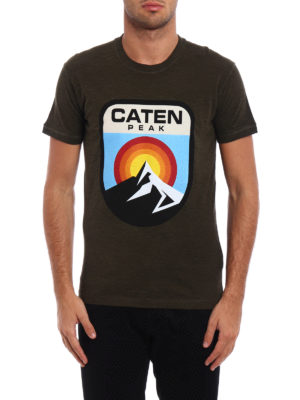 Dsquared2: t-shirts online - Caten Peak jersey T-shirt