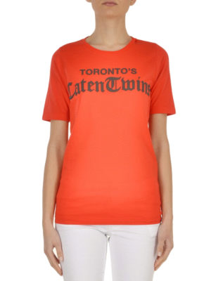 Dsquared2: t-shirts online - Caten Twins' cotton T-shirt