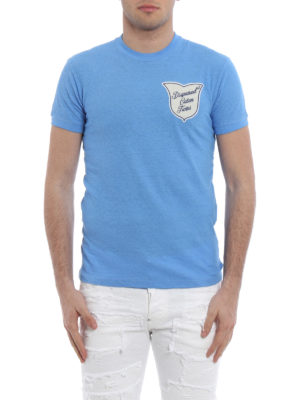 Dsquared2: t-shirts online - Caten Twins crest detailed Tee