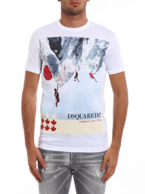 Dsquared2: t-shirts online - Climbing since 1964 T-shirt