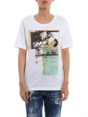 Dsquared2: t-shirts online - Collage images T-shirt