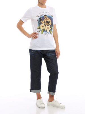 Dsquared2: t-shirts online - Fight a Good Fight T-shirt
