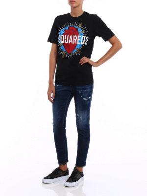 Dsquared2: t-shirts online - Logo print T-shirt