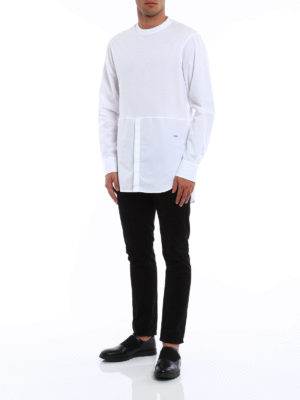 Dsquared2: t-shirts online - Long sleeved cotton T-shirt