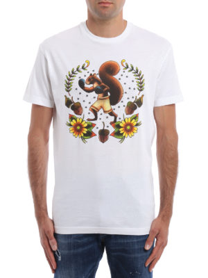Dsquared2: t-shirts online - Squirrel print T-shirt