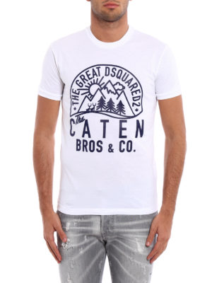 Dsquared2: t-shirts online - The Caten Bros Tee
