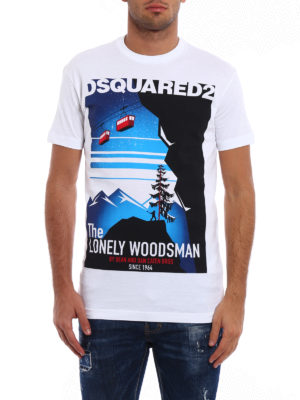 Dsquared2: t-shirts online - The Lonely Woodsman Tee