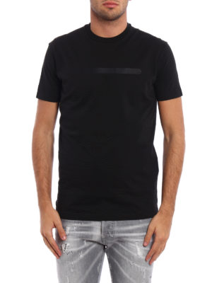 Dsquared2: t-shirts online - Total black Tee