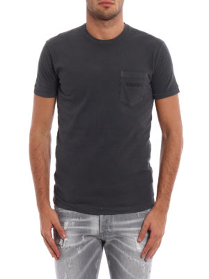 Dsquared2: t-shirts online - Total grey Tee