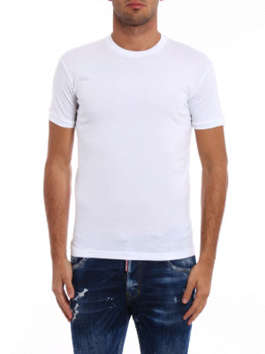 Dsquared2: t-shirts online - Total white Tee