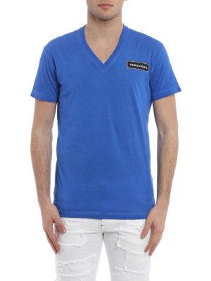 Dsquared2: t-shirts online - V-neck cotton T-shirt