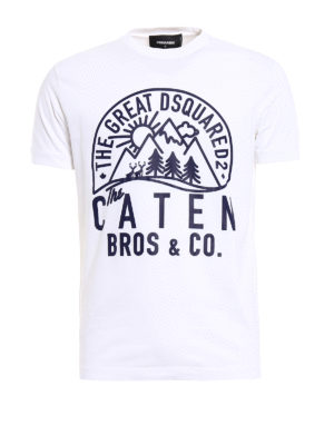 Dsquared2: t-shirts - The Caten Bros Tee